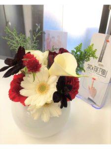 12月のお花紹介♪