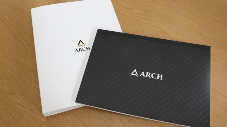ARCH英会話教室様 「PPリングファイル」「オリジナルノート」
